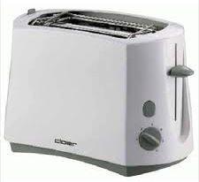 Toaster weiß/grau  331