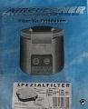 Filter für Friteusen Tefal