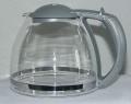 Ersatz -Glaskanne 10 Tassen silbergrau